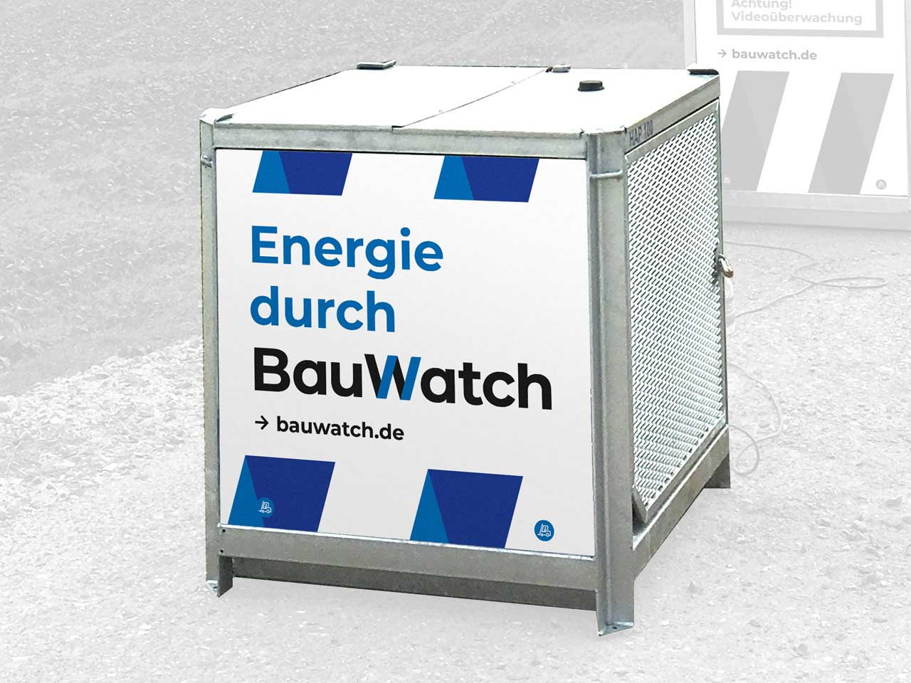 BauWatch Hybrid Powerstation